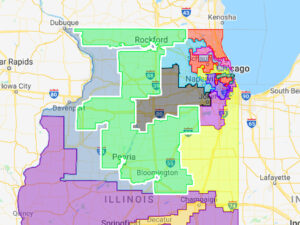 New Illinois Hispanic District proposed in revised congressional remap: In surprise, Newman, Casten thrown together