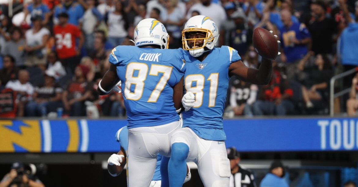 Photos: Chargers defeat Cleveland Browns in thriller at SoFi Stadium