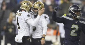 Saints capitalize on Seahawks' mistakes for 13-10 win