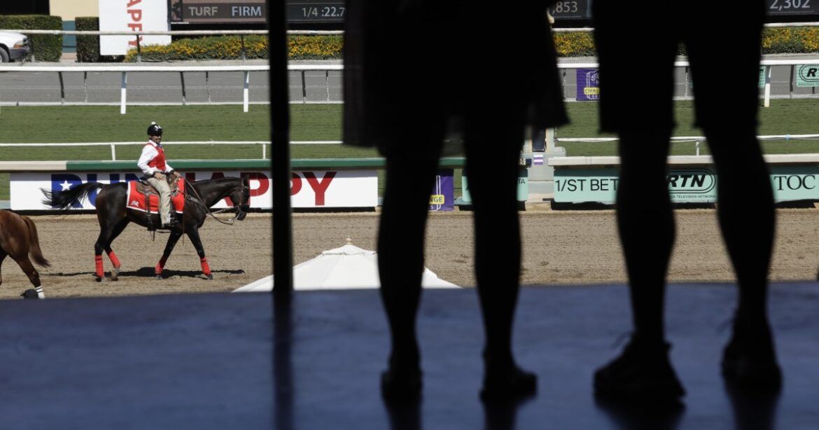 Santa Anita hillside course race goes off without a hitch upon return