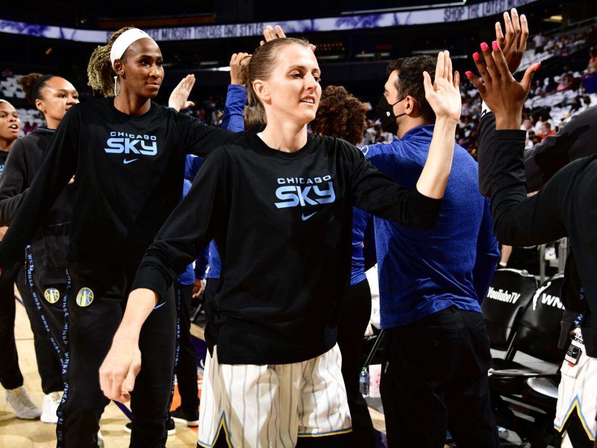 Sky guard Allie Quigley's WNBA journey is one of resilience