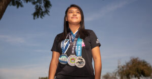 Students Use the Los Angeles Marathon as a Way to Keep Going