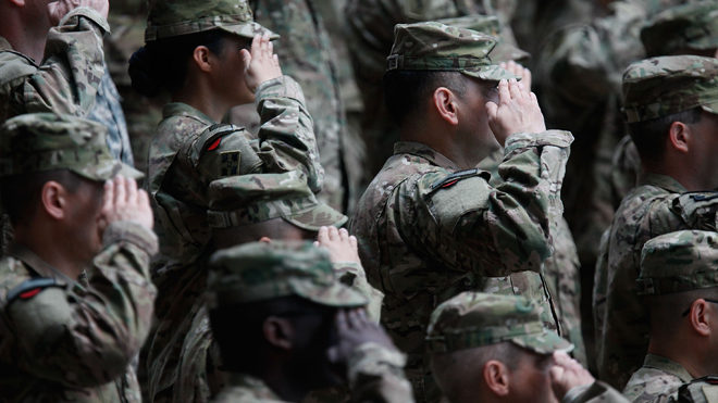 Suicides in the U.S. Army's active-duty forces jumped 46-percent compared to last year: Pentagon
