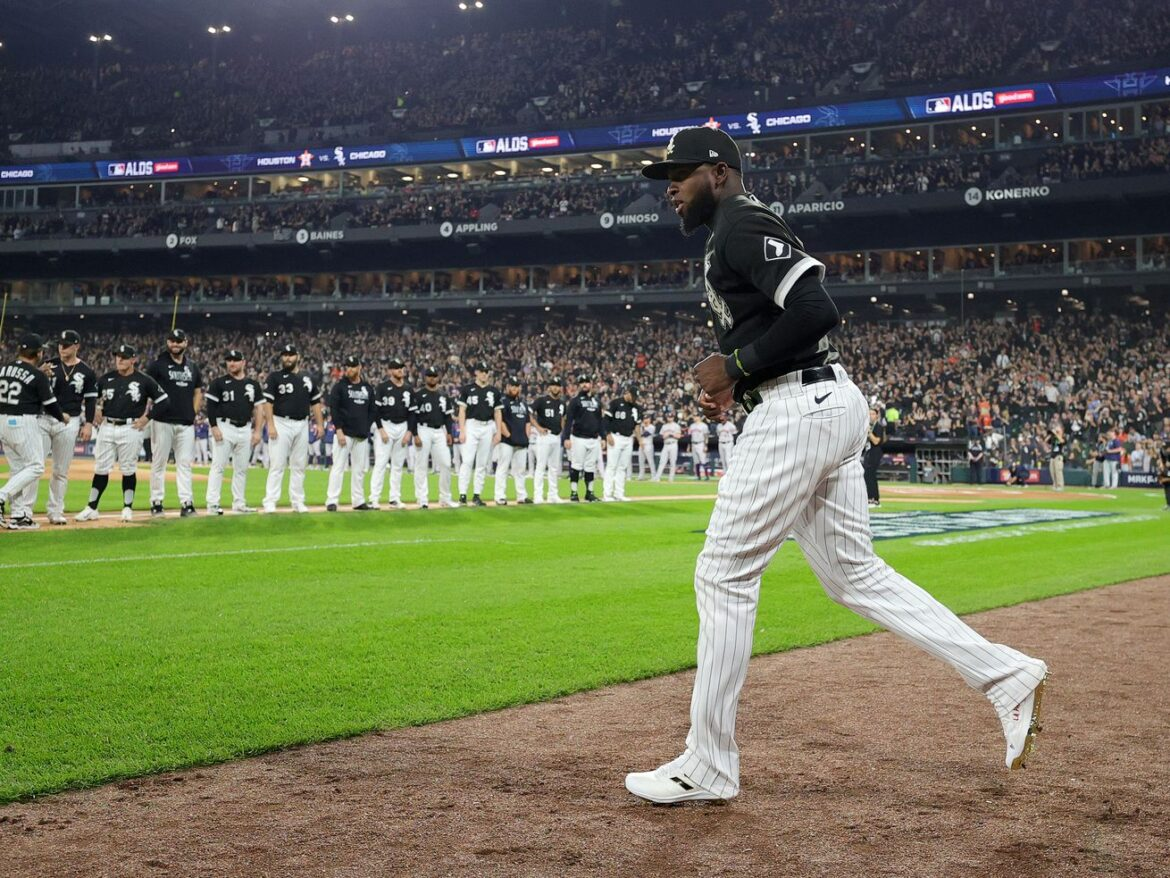 The postseason stage was built for Luis Robert