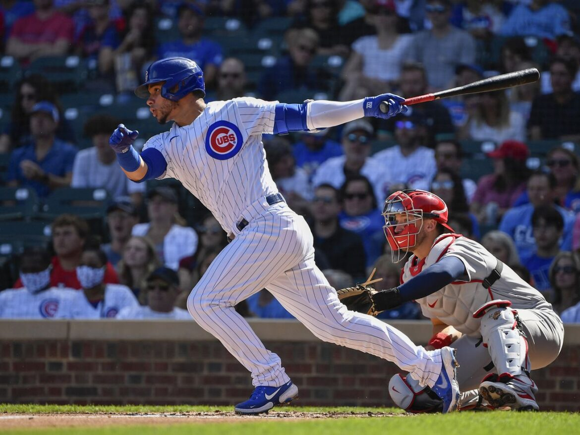 Willson Contreras finishes 2021 season on injured list with right hip inflammation